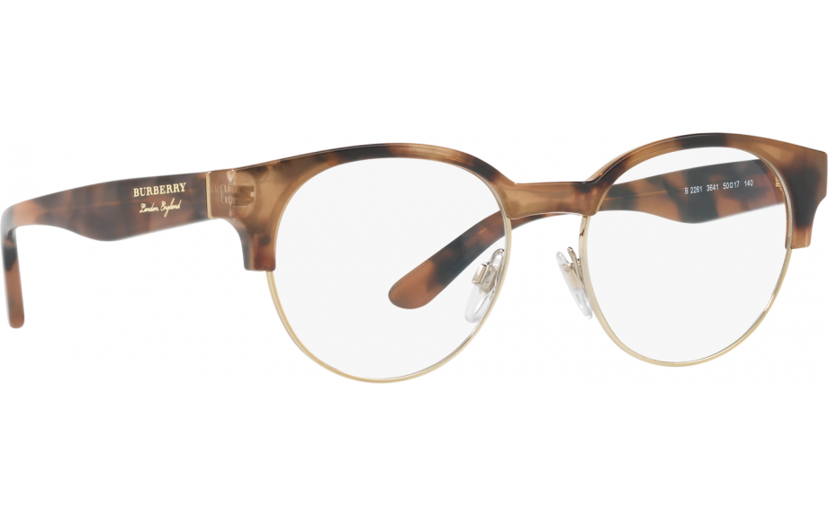 4a50fc63c281 Burberry BE2261 3641 50 Glasses - Free Shipping