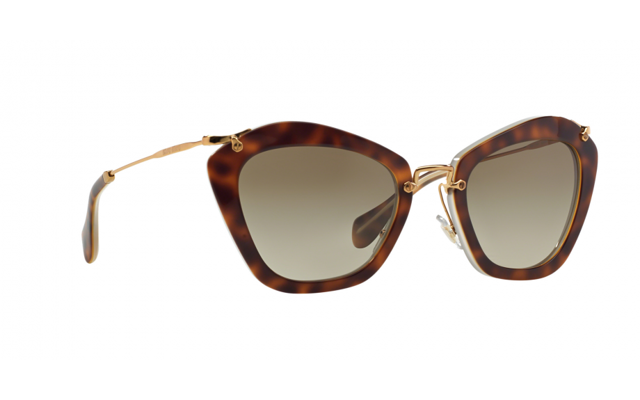 45eb846b2bd1 Miu Miu MU 10NS HAH1X1 55 Sunglasses - Free Shipping