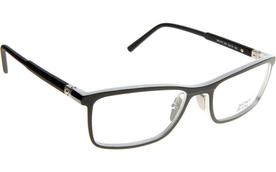 7b770b7188a6 Mont Blanc MB0616 002 55 Glasses - Free Shipping