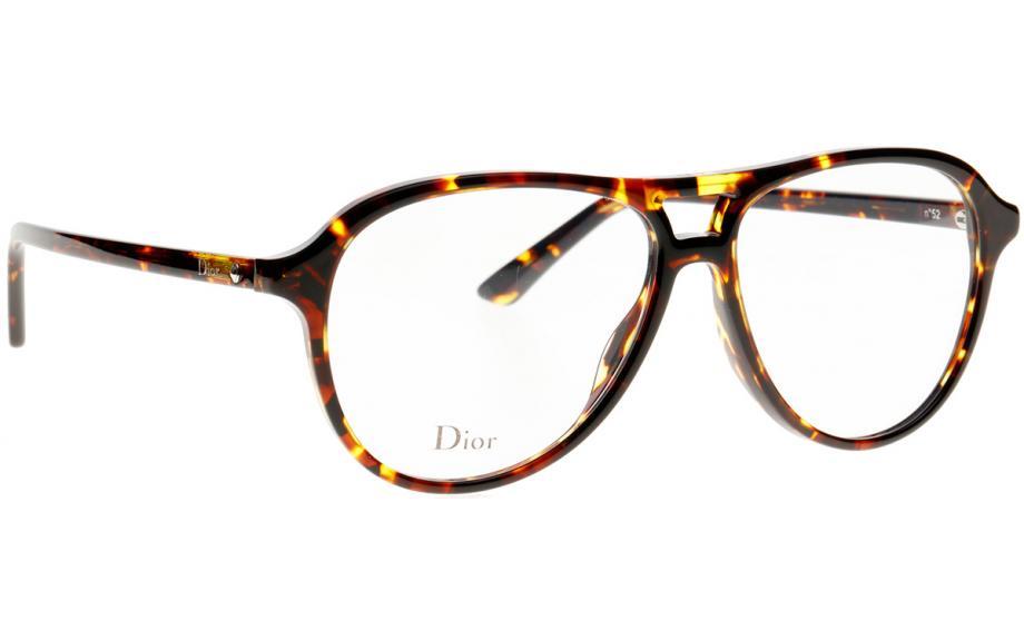 90ce65912cca Dior Montaigne 52 P65 54 Glasses - Free Shipping